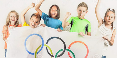 Детские олимпийские игры - тематические игры в лагере