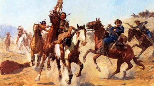 Индейцы и Ковбои. Дикий Запад